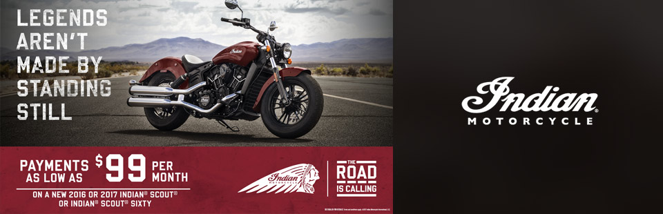 Indian Motorcycle: The Road is Calling (Indian® Scout®)